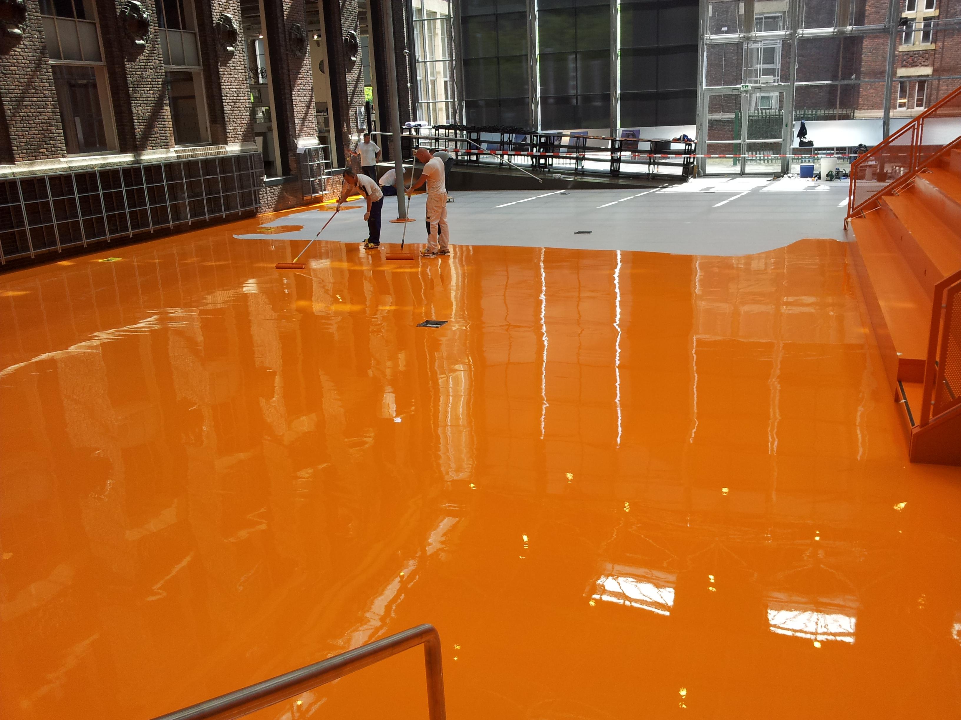 Vloeren schilderen